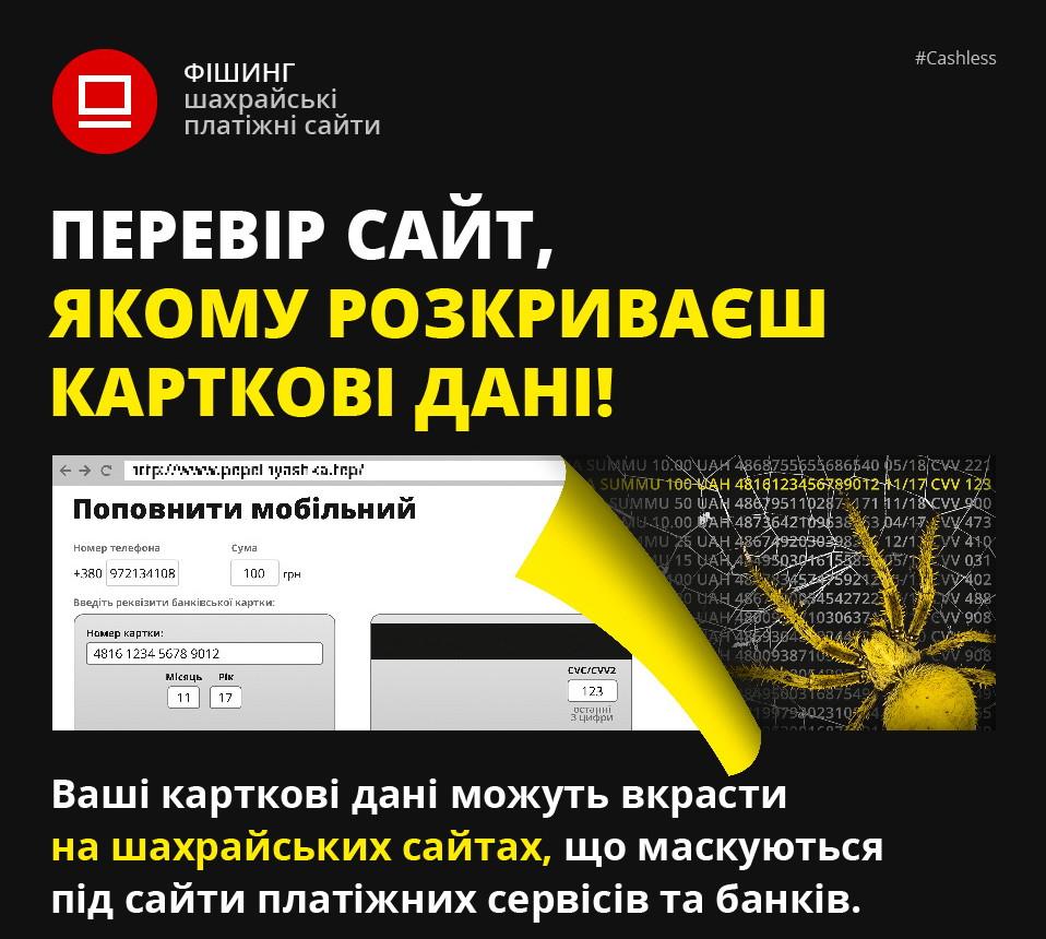 Фишинговые сайты информация