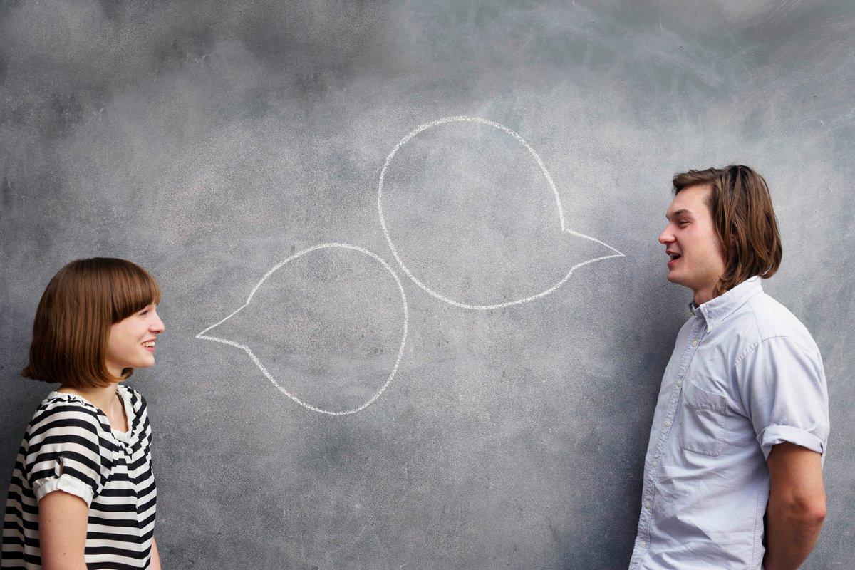Разговор двух людей