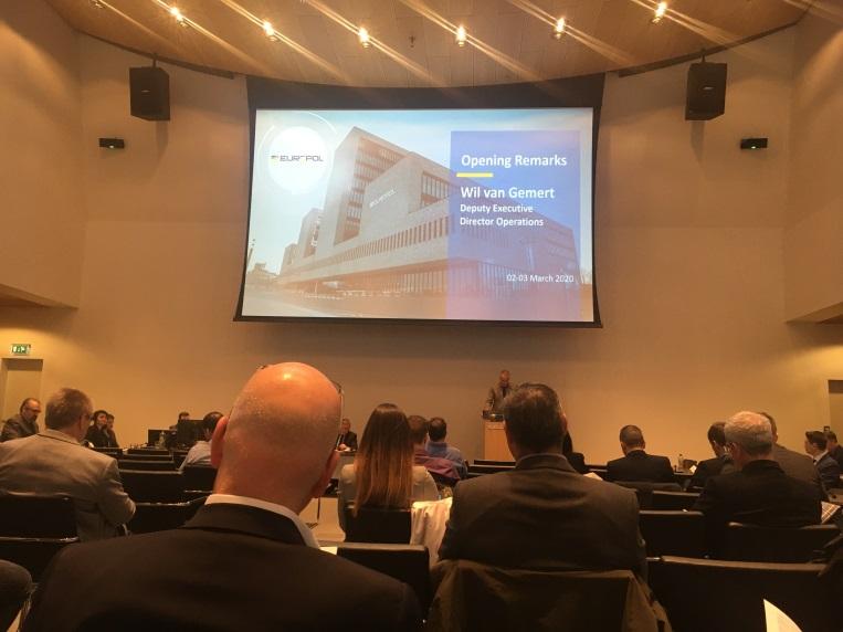 Об'єднане засідання груп радників EC3 Europol в Гаазі 2-3 березня 2020р.